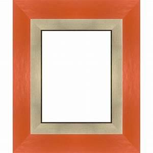 Cadre Marie Louise : encadrement orange sur mesure avec marie louise cadre toile ~ Melissatoandfro.com Idées de Décoration