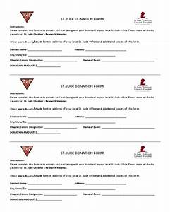 2018 St. Jude Donation Form - Fillable, Printable PDF ...
