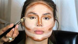Kim Kardashian's Makeup secrets - Contouring & Highlight ...