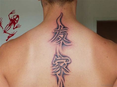 Tattoo : 53 Delightful Chinese Symbol Neck Tattoos