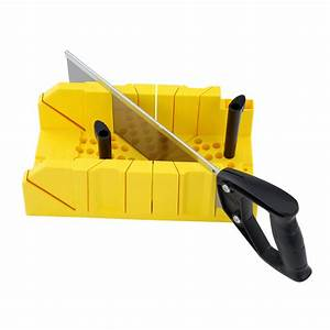 Miter Boxes with Hand Saws