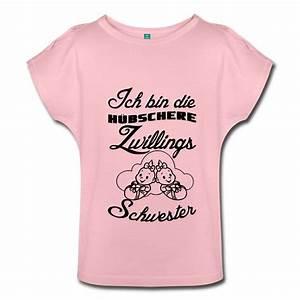 Originelle Geschenke Für Zwillinge : ich bin die h bschere zwillingsschwester humorvolle shirts und geschenke f r zwillinge ~ Frokenaadalensverden.com Haus und Dekorationen