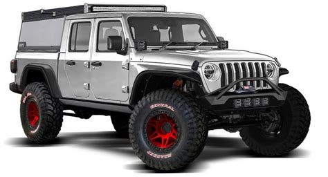 check  jeeps gladiator truck rendered   bunch   tops carscoops