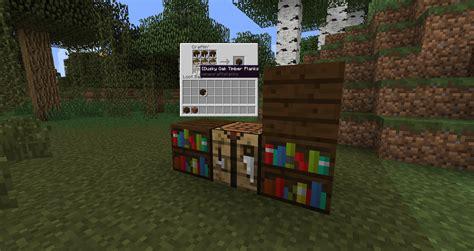 wood varied bookshelves suggestions minecraft java