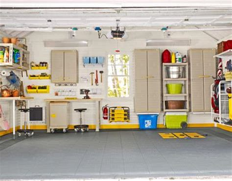 Cabinet & Shelving  Garage Shelving Ideas With Modern