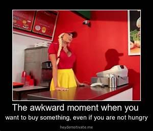 That awkward moment - Girl meme