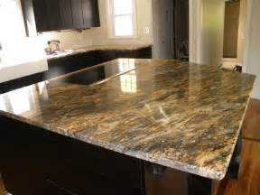 kitchen island with cutting board top beautiful custom hurricane granite kitchen the