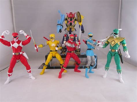 Power Rangers Legacy Figures Wave 1 Review (Mighty Morphin ...