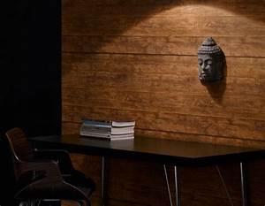 Papier Peint Trompe L Oeil Bois : le trompe l 39 oeil sous forme de papier peint ~ Premium-room.com Idées de Décoration