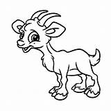 Goat Coloring Cartoon Goats Billy Gruff Three Animal Drawing Easy Printable Illustration Getcolorings Isolated Clipartmag Getdrawings Stegosaurus Dinosaur Rabbit Colorings sketch template
