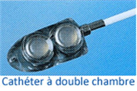 prise de sang sur chambre implantable cathéters à chambre implantable à chambre et lumière