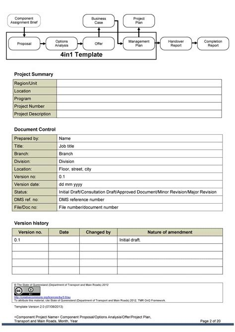 Project Template 43 Professional Project Templates Template Lab