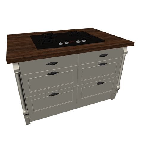 kitchen island with gas cooktop design and decorate your