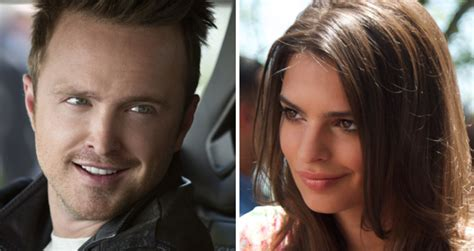 Aaron Paul & Emily Ratajkowski in for a Bad Time in ...