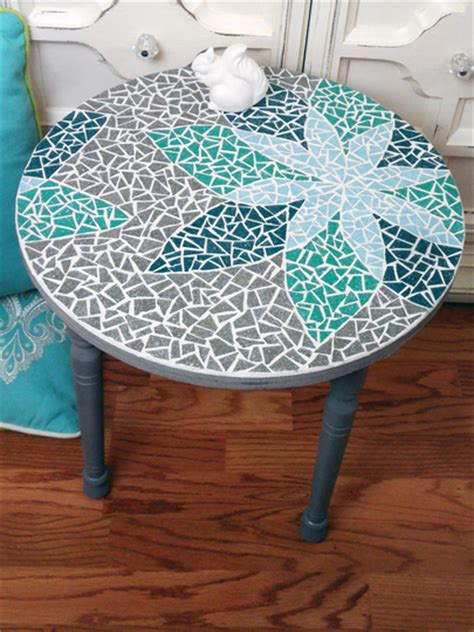 mosaic table diy tiles mozaik tile ceramic transfer cut grout mix glass tops including learn tables apply unique projects mosaics