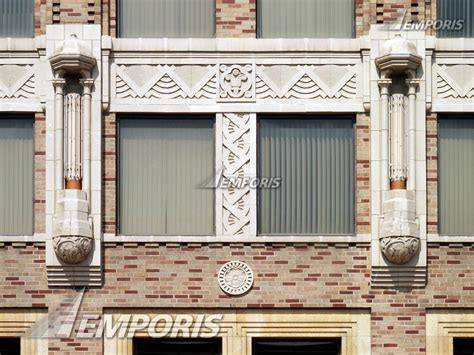 facade ornament on the 2nd floors state farm downtown