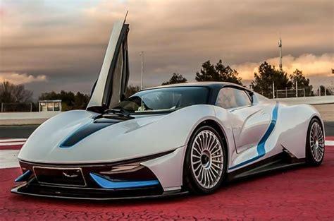 BAIC unveils Arcfox-7 electric supercar in China