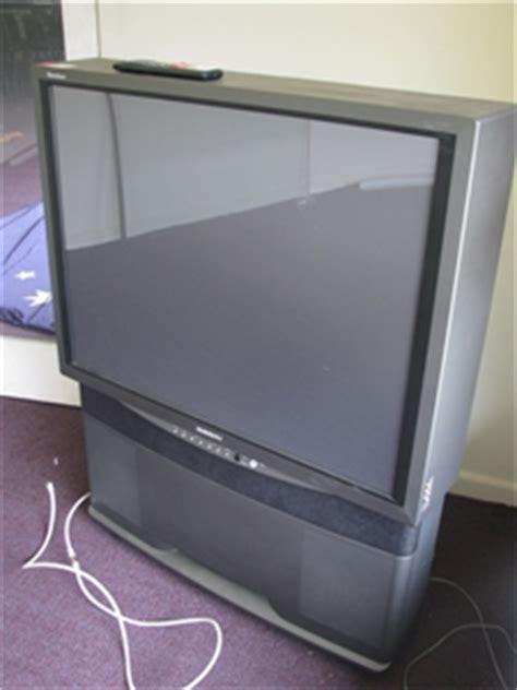 television samsung tantus model sp jmf rear