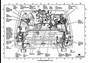 1963 Thunderbird Vacuum Line Diagram