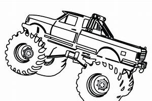 coloring cement mixer coloring pages simple truck for With simple mixer