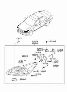 921663k000 - Hyundai Holder Assembly
