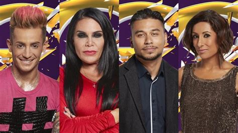 celebrity big brother 2016 housemates revealed meet the