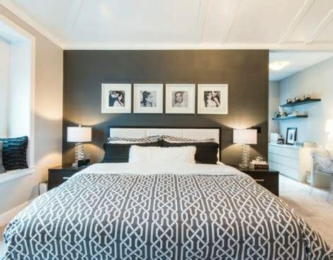 farben im schlafzimmer einsetzen das schwarz als hauptfarbe