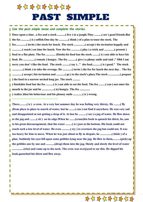 Past Simple Worksheet  Free Esl Printable Worksheets Made By Teachers
