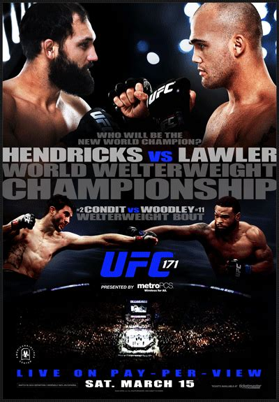 ufc  fight poster photo