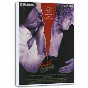 Fatal Attraction Canvas Poster / Fatal Attraction Canvas Print