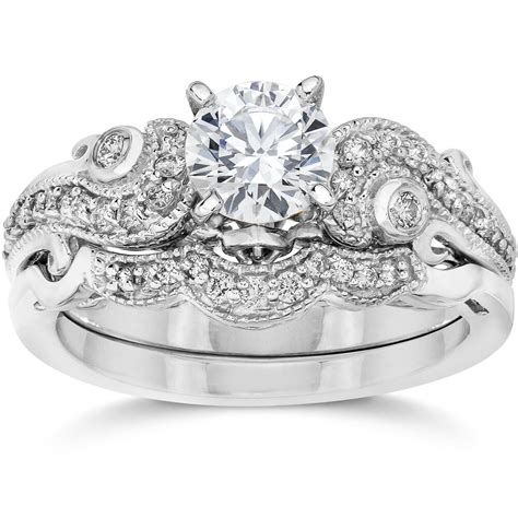 emery 3 4ct vintage diamond filigree engagement wedding