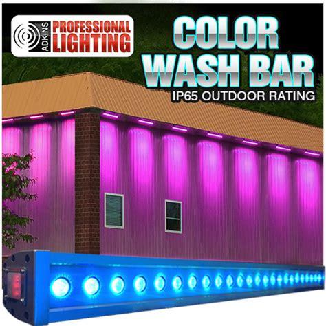 Color Wash Bar Rgb Tricolor 24x3w Led Up Light Ip65