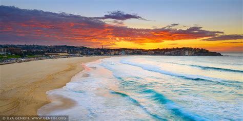 Hd Night Sky Wallpapers Amazing Sunrise Above Bondi Beach Print Photos Fine Art Landscape Photography Ilya Genkin