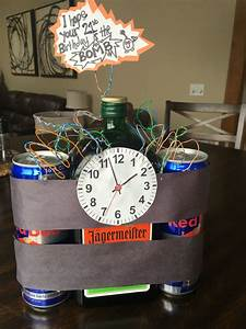 Boyfriends 21st birthday idea. Jäger bombs. Creative ...