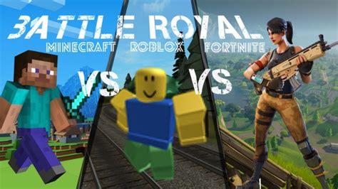 minecraft  roblox  fortnite battle royal skyrinia