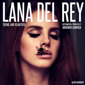 "Lana Del Rey - ""Young and Beautiful"" (Instrumental Remake ..."