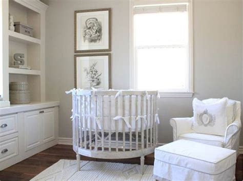 white neutral nursery decor ideas