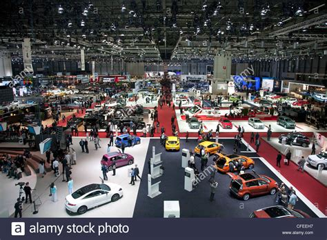Palexpo Exhibition Hall Containing The Geneva Motor Show
