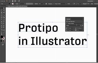 Font Illustrator Variable Format Feature Var