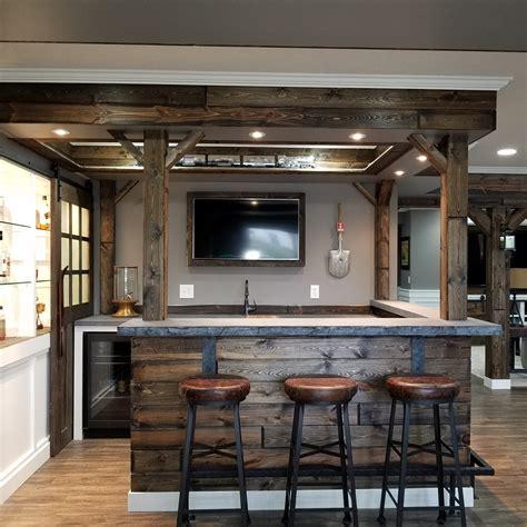 Custom Bar by Bars Stonetop Surfaces Minneapolis St Paul