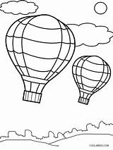 Balloon Coloring Air Template Pages Printable Drawing Balloons Cool2bkids Templates Preschool Ballon Sheets Print Craft Books Getdrawings Getcolorings Paintingvalley Ba sketch template