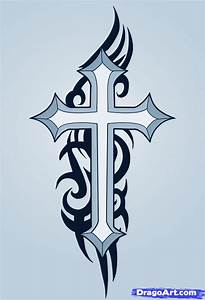 How to Draw a Cross Tattoo, Step by Step, Tattoos, Pop ...