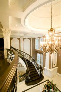 Mansion Foyer with Staircase