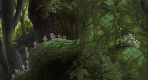 Studio Ghibli Forest Spirit GIF - Find & Share on GIPHY
