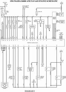 1996 Mazda B4000 Wiring Diagram