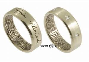 get your stylish meaningful wedding band from brent jess With meaningful wedding rings