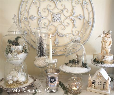 My Romantic Home: Christmas Decor Galore!   Show and Tell