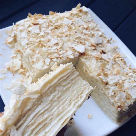 Šodien diēta tādēļ ēdīsim mazkaloriju Napaleona kūku - INSTA receptes - tavs recepšu portāls