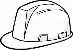 Construction Hard Hat Illustration Stock Vector Art & More ...
