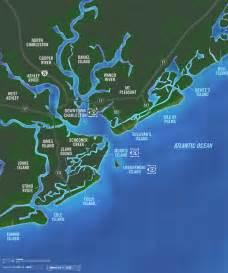 Greater Charleston SC Area Map